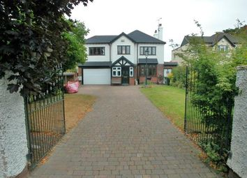 Thumbnail 4 bed detached house for sale in Leighton Road, Neston, Cheshire