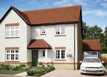 Thumbnail 4 bed detached house for sale in The Chestnuts, Winscombe