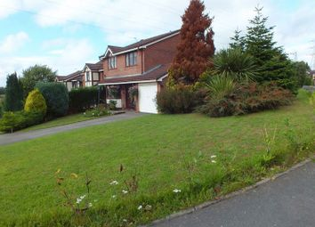 Thumbnail 4 bed detached house for sale in Silverstone Crescent, Packmoor, Stoke-On-Trent