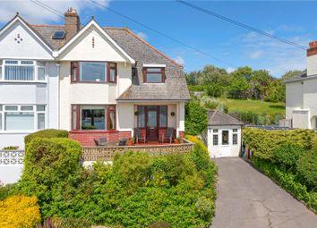 Thumbnail 4 bed semi-detached house for sale in Embankment Road, Kingsbridge, Devon
