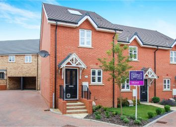 Thumbnail 2 bed end terrace house for sale in Radcliffe Mews, New Cardington, Bedford