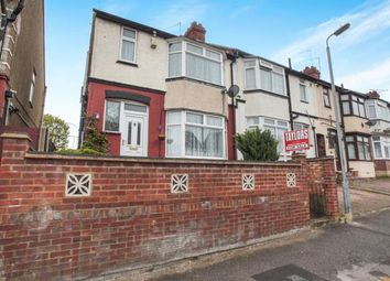 Thumbnail 3 bedroom end terrace house for sale in Chester Avenue, Luton, Bedfordshire, Challney