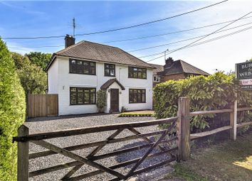 Thumbnail 4 bed detached house for sale in New Road, Wormley, Godalming