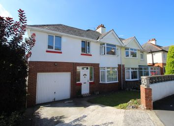 Thumbnail 4 bed semi-detached house for sale in Paynsford Road, Newton Abbot, Devon