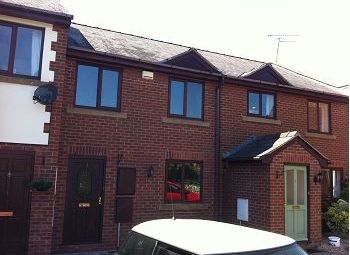Thumbnail 3 bed terraced house for sale in Church Farm Court, Willaston, Wirral