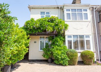 Thumbnail 3 bed semi-detached house for sale in Keith Way, Southend-On-Sea