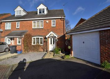 Thumbnail 4 bed semi-detached house for sale in Windrush Close, Great Ashby, Stevenage, Herts