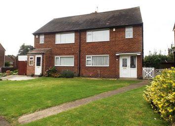Thumbnail 2 bedroom semi-detached house for sale in Clumber Street, Hucknall, Nottingham, Nottinghamshire
