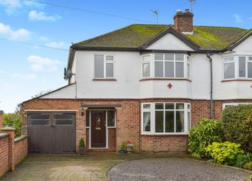 Thumbnail 3 bed semi-detached house for sale in Brookfield Road, Haversham, Milton Keynes