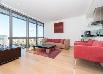 Thumbnail 2 bed flat to rent in No 1 West India Quay, Canary Wharf, London