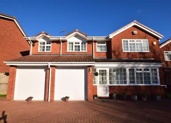 Thumbnail 5 bed detached house for sale in Longstone Close, Shirley, Solihull