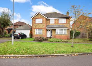 Thumbnail 4 bed detached house for sale in Warren View, Ashford