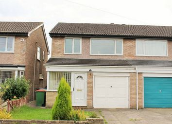 Thumbnail 3 bed semi-detached house for sale in Heversham Avenue, Fulwood, Preston, Lancashire