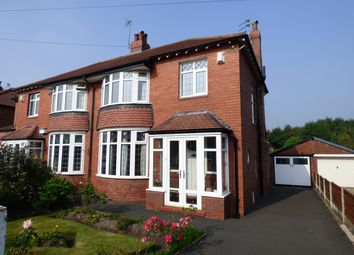 Thumbnail 3 bed semi-detached house for sale in Lyme Road, Hazel Grove, Stockport