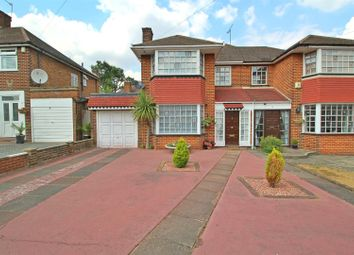 Thumbnail 3 bed property for sale in Merryhills Drive, Enfield