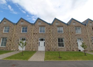 Thumbnail 3 bed terraced house to rent in Crossover Road, Inverurie