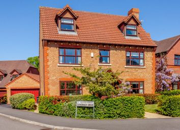 Thumbnail 5 bed detached house for sale in Sandbach Drive, Northwich