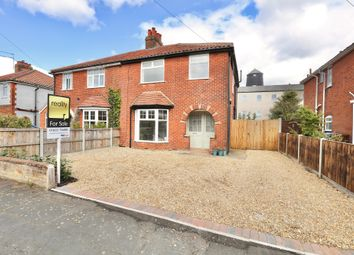 Thumbnail 3 bed semi-detached house for sale in Aurania Avenue, Norwich