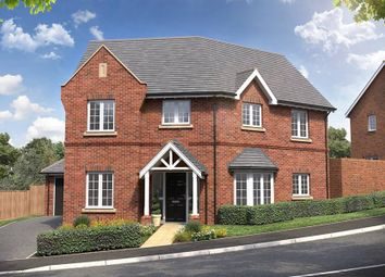 "Thumbnail 4 bed property for sale in ""The Keelcroft"" at Red Lane, Burton Green, Kenilworth"