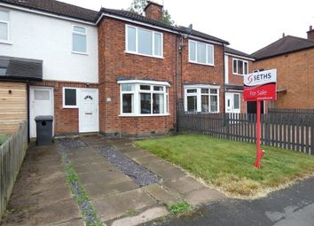 Thumbnail 3 bed town house for sale in Holmfield Avenue, Stoneygate, Leicester