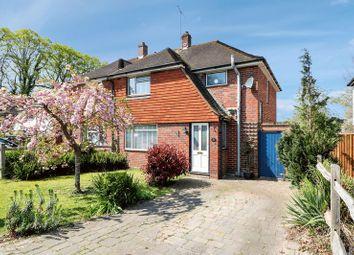 Thumbnail 3 bed semi-detached house for sale in Broadley Green, Windlesham