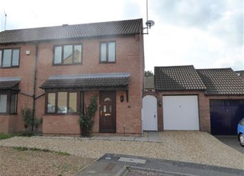 Thumbnail 3 bedroom semi-detached house to rent in Greenglades, Northampton, Northamptonshire