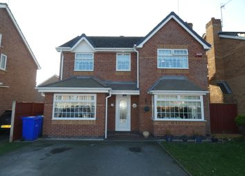 Thumbnail 4 bed detached house for sale in Holkham Close, Widnes