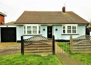 Thumbnail 3 bed detached bungalow for sale in May Avenue, Canvey Island, Essex