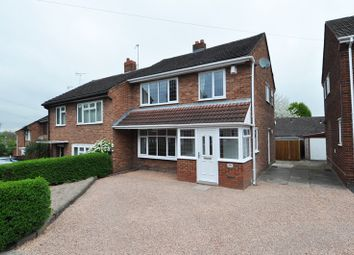 Thumbnail 3 bedroom semi-detached house to rent in Cornwall Road, Wollaston, Stourbridge