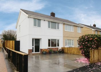 Thumbnail 3 bed semi-detached house for sale in Parc Berwig, Llanelli, Dyfed