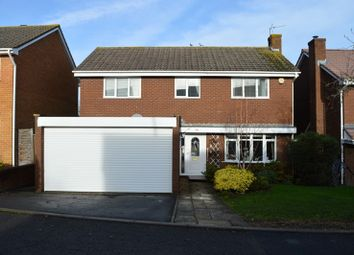 Thumbnail 4 bed detached house for sale in Southdown, Worle, Weston-Super-Mare