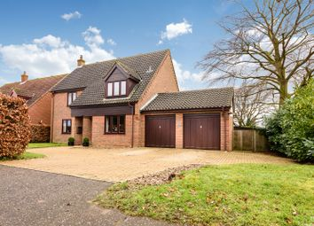 Thumbnail 4 bed detached house for sale in Burgate Lane, Poringland