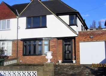 Thumbnail 3 bed semi-detached house to rent in Alverstone Road, Wembley Park