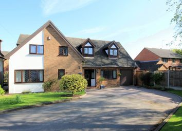 Thumbnail 4 bed detached house for sale in Rowley Hall Close, Stafford
