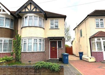 Thumbnail 3 bed semi-detached house for sale in Ivanhoe Drive, Harrow