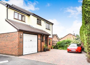 Thumbnail 4 bed detached house for sale in Kedleston Close, Stretton, Burton-On-Trent