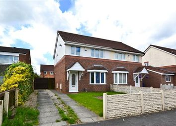 Thumbnail 3 bed semi-detached house for sale in Ribble Road, Platt Bridge, Wigan