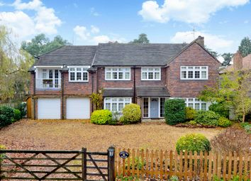 Thumbnail 5 bed detached house for sale in Chinthurst Lane, Shalford, Guildford
