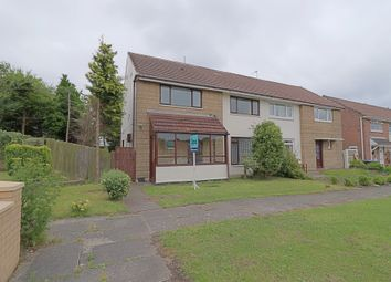 Thumbnail 3 bed semi-detached house for sale in Smillie Close, Peterlee