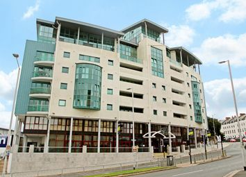 Thumbnail 1 bedroom flat for sale in The Crescent, Plymouth