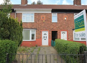 Thumbnail 3 bed terraced house for sale in Ackers Hall Avenue, Huyton, Liverpool