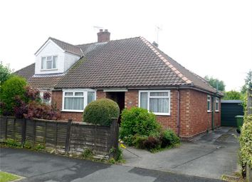 Thumbnail 2 bed semi-detached bungalow for sale in Heslington Croft, Fulford, York