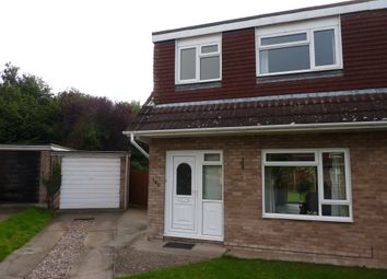 Thumbnail 3 bed semi-detached house to rent in Lythwood Road, Bayston Hill, Shrewsbury, Shropshire