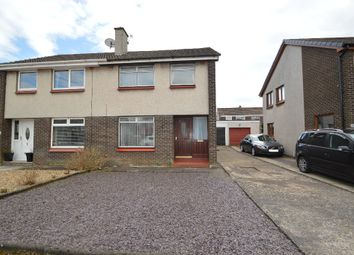 Thumbnail 3 bed semi-detached house for sale in Mcrobert Avenue, Dreghorn, North Ayrshire