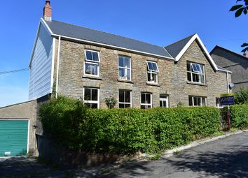 Thumbnail 5 bed detached house for sale in Gorsafle, Ystradgynlais, Swansea