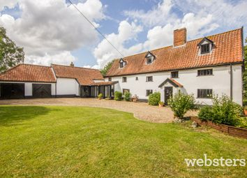 Thumbnail 5 bed detached house for sale in The Street, Tibenham