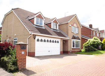 Thumbnail 4 bedroom detached house for sale in Helm Drive, Hull