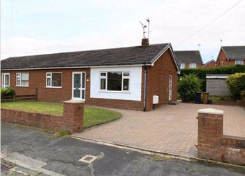 Thumbnail 2 bed semi-detached bungalow for sale in Dukesfield Drive, Buckley, Flintshire