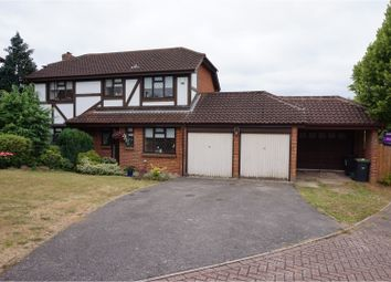 Thumbnail 4 bed detached house for sale in Willow Road, Aylesford
