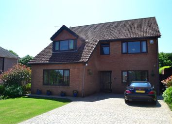 Thumbnail 5 bed detached house for sale in Saunders Way, Sketty, Swansea